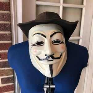 Guy Fawkes official DC comics mask